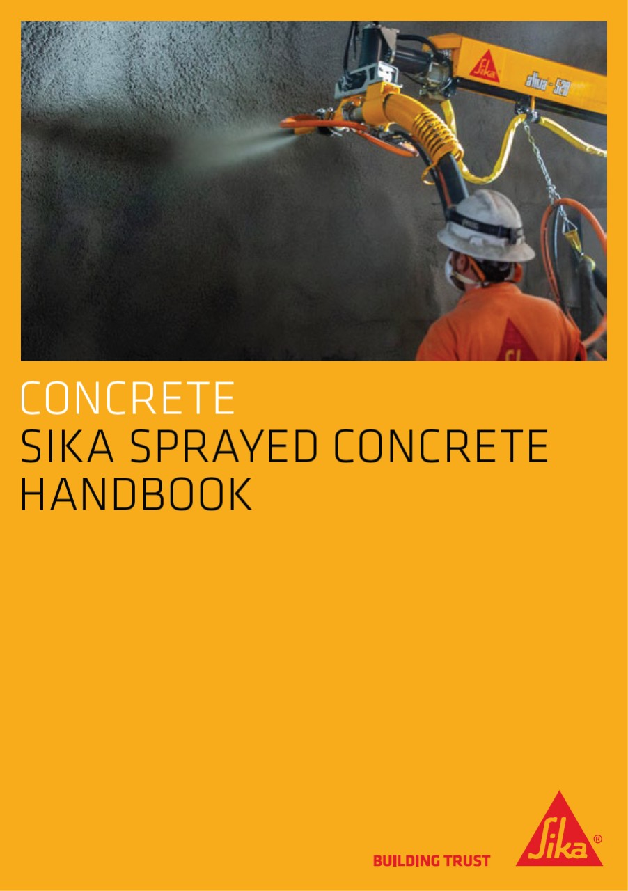 Sika Sprayed Concrete Handbook 2011