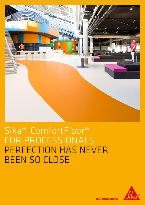 Sika ComfortFloor® for Professionals