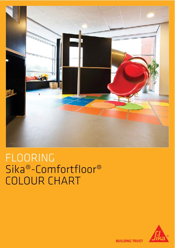 Sika ComfortFloor® Colour Chart
