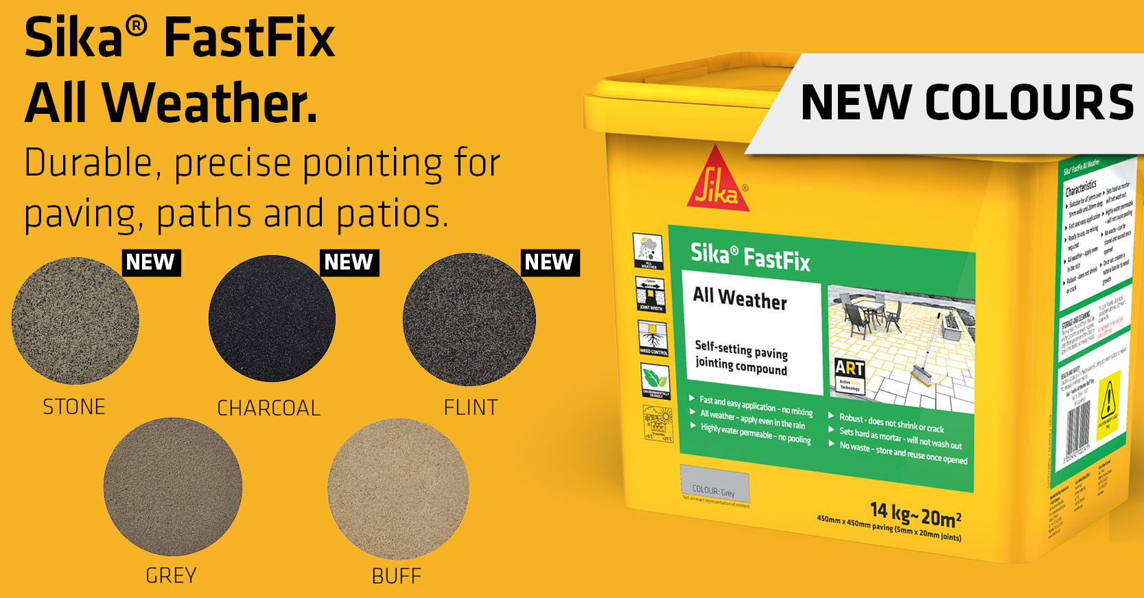 FastFix paving jointing compound
